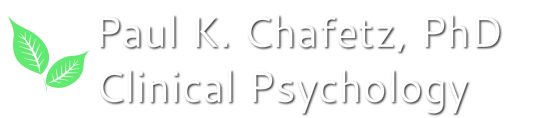 Paul K. Chafetz, PhD Clinical Psychology